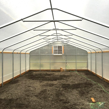 semi gable greenhouse frames oregon